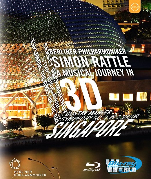 M1656.Berliner Philharmoniker The Singapore Concert 2010 BluRay 2D+3D (50G)