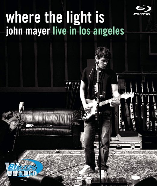 M1671.John Mayer Where The Light Is Live In Los Angeles 2008 (50G)