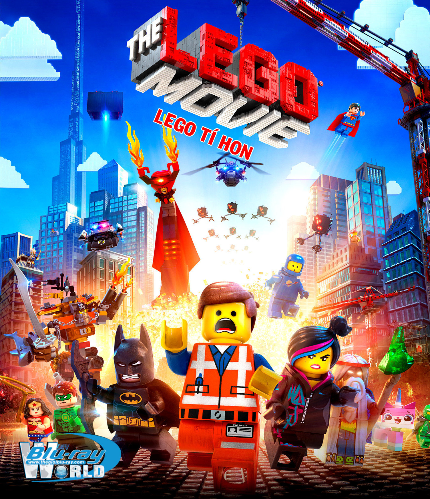 HD0199 - The Lego Movie 2014 - Lego tí hon