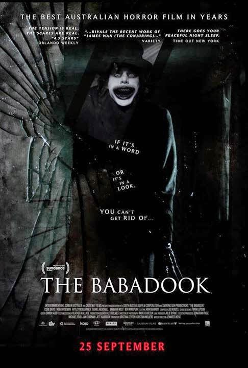 HD0297 - The babadook 2014 - Sách ma