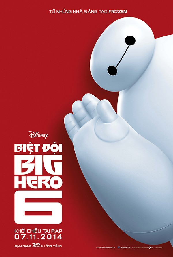 HD0330 - Big hero 6 2014 - Biệt đội Big 6