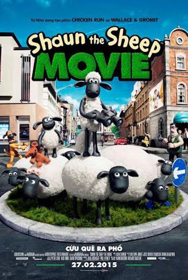 HD0369 - Shaun the sheep The Movie - Cừu quê ra phố