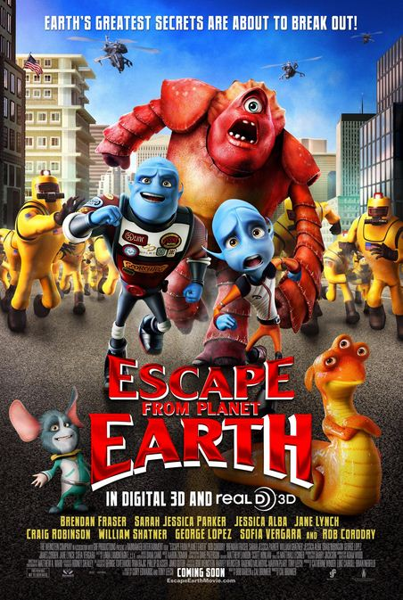 HD0077. Thoat Khoi Trai Dat - Thuyet Minh - Escape From Planet Earth (2013)