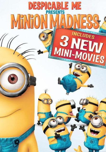 HD0079. Ke cap mat trang (mini) - Despicable Me Presents Minion Madness 2010