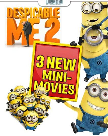 HD0080. Despicable Me 2 Mini Movie (2013)
