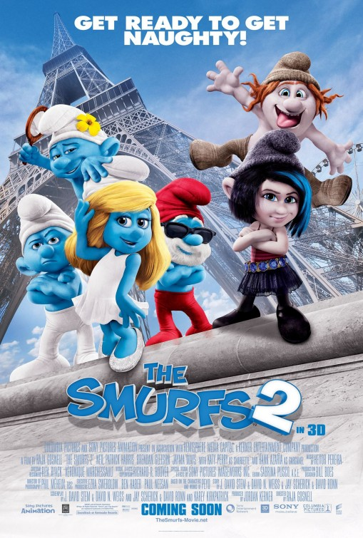 HD071. The Smurfs 2 - Xì Trum 2 2013