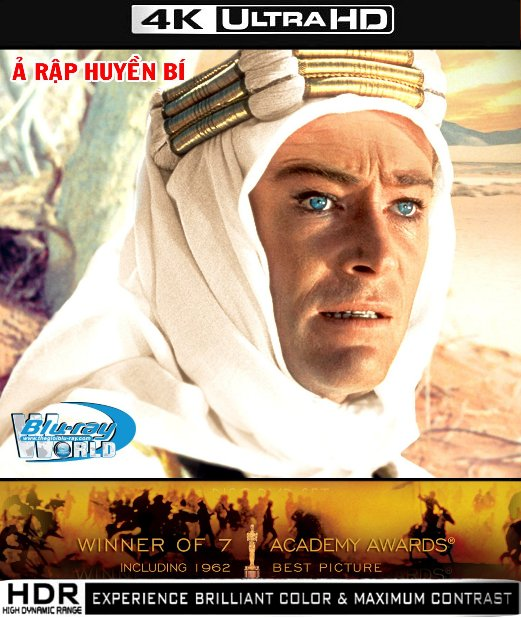 UHD015.Lawrence of Arabia 1962 2160p (120G)