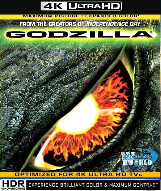 UHD017.Godzilla 1998 (QUAI VAT GOZILA) 2160p