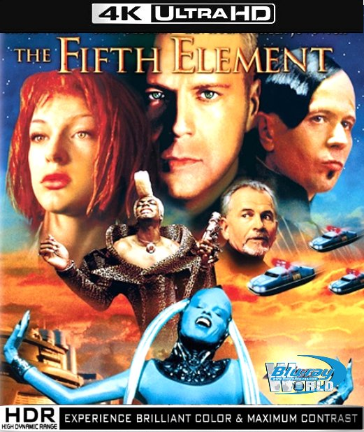 UHD018.The Fifth Element 1997(NGUYEN TO THU 5) 2160p