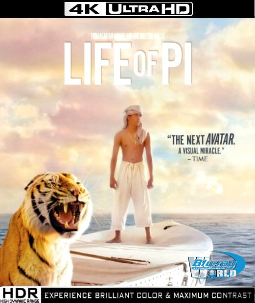 UHD046.Life of Pi 2012 2160p UltraHD Bluray DTS-ES.7.1 (60G)