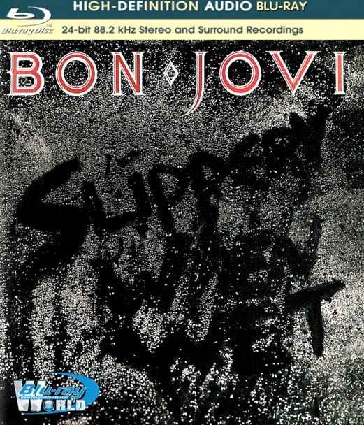 M1172. Bon Jovi Slippery When Wet (1986) BLURAY AUDIO (25G)