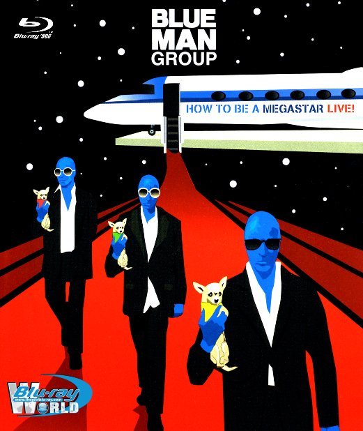 M1901. Blue Man Group - How to be a Megastar LIVE! (50G)