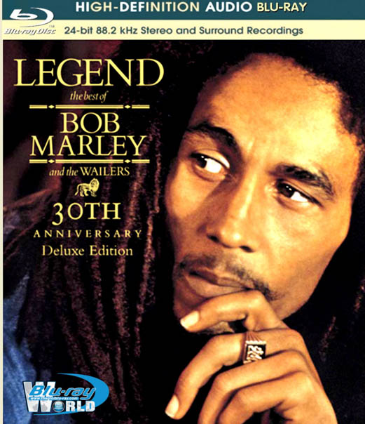 M770. Bob Marley The Wailers Legend 30th Anniversary 2014 BLURAY AUDIO (25G)
