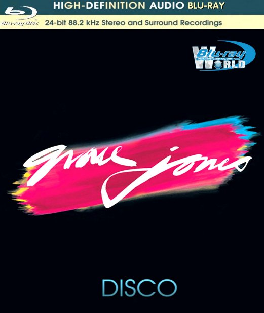 M1232. Grace Jones The Disco Years Trilogy – Portfolio  Fame  Muse (1977-1979) AUDIO BLURAY (25G)